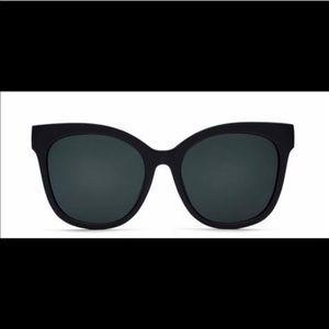 Quay it's my way black Matte sunglasses